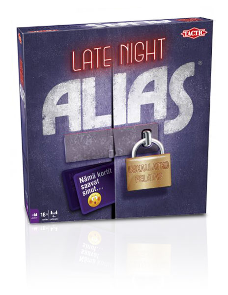 Alias Late Night aikuisten sananselityspeli
